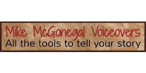 Mike McGonegal Voice-Overs logo