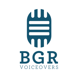 BGR Voiceovers logo