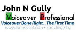 John N Gully - Voiceover Professional logo