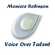 Moniece Robinson Voice Over Talent logo