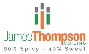 Jamee Thompson Voicing logo