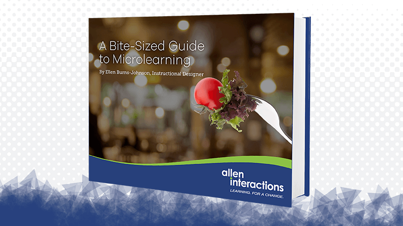 Free eBook: A Bite-Sized Guide To Microlearning