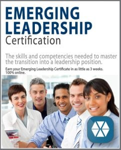 Emerging Leadership Certification Now Available Online