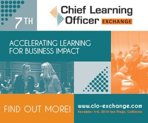 Speaker Lineup Confirmed For The Chief Learning Officer Exchange 2016