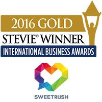 SweetRush Wins Gold Stevie® International Business Award