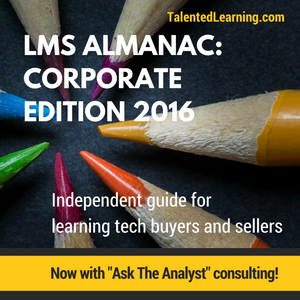 "Talented Learning ""LMS Almanac"" Now Includes Ask-The-Analyst Consulting"