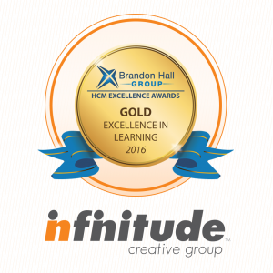 Infinitude Creative Group Wins Gold At Brandon Hall Excellence Awards
