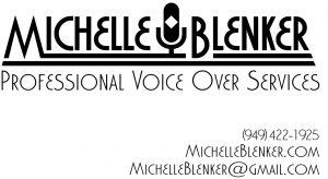 Michelle Blenker eLearning Voice Over Services logo