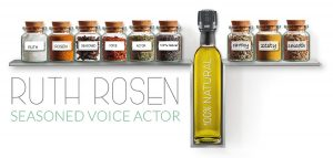 Ruth Rosen Voice Over logo