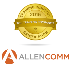 AllenComm Named As Top 20 Gamification Provider By Training Industry