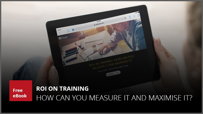 Free eBook: ROI On Training - How Can You Measure It And Maximise It