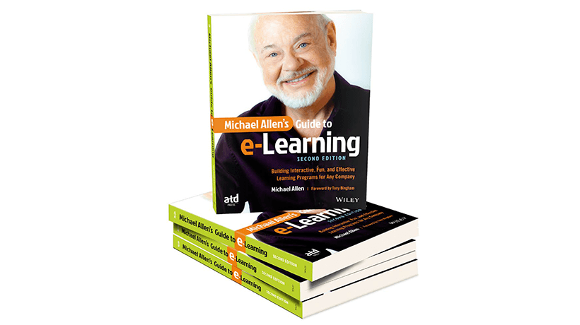Michael Allen's Guide To e-Learning Second Edition: Free Chapter!