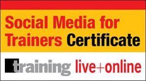 Social Media For Trainers Certificate Program