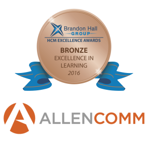 Allen Communication Wins Brandon Hall For Best Custom Content