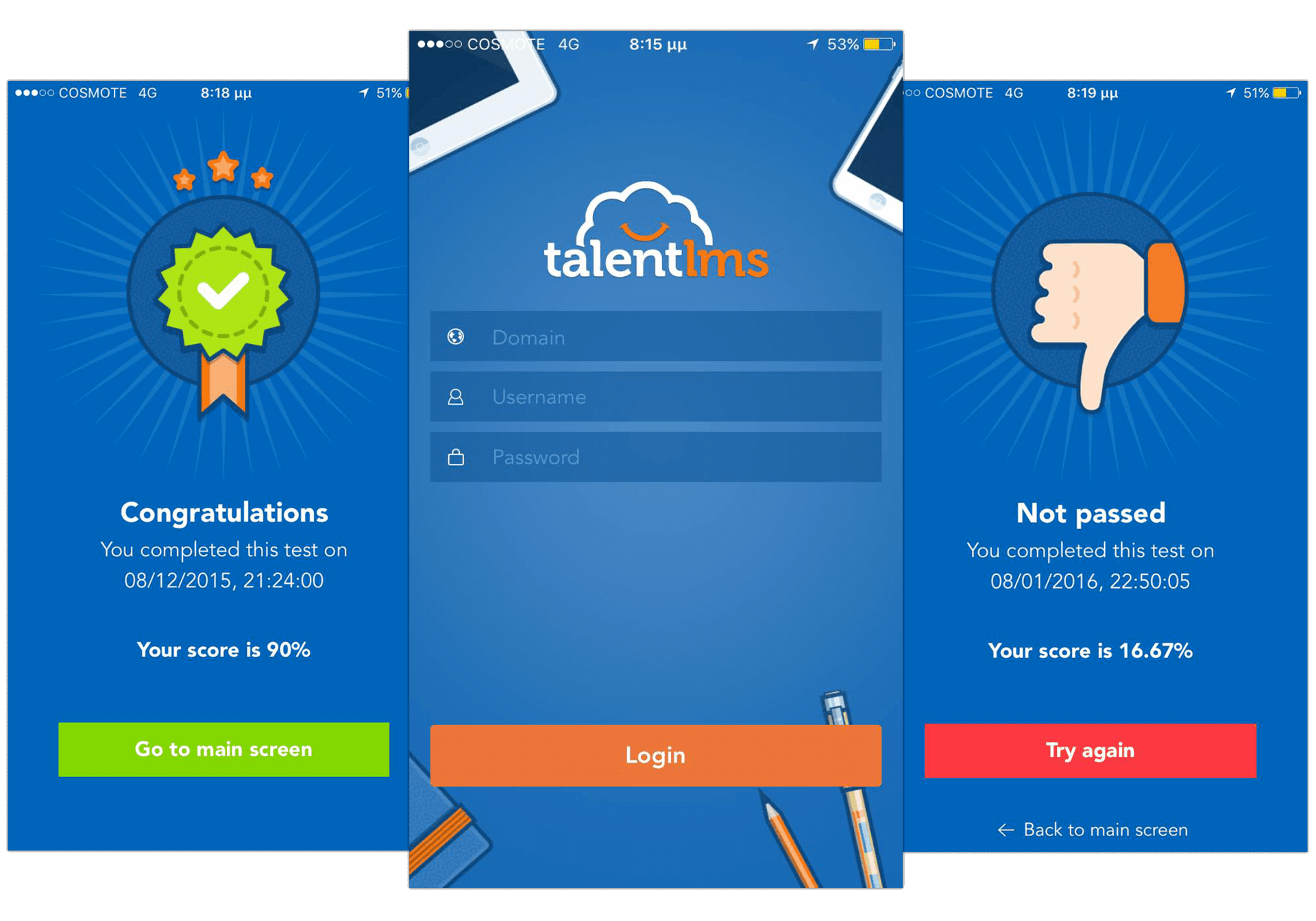 mLearning with TalentLMS