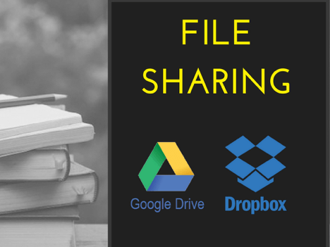 File Sharing during e-learning development