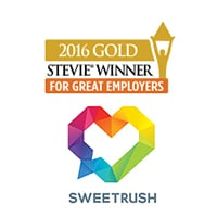 SweetRush Wins Gold For Solution Provider Of The Year