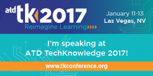 RK Prasad Speaking On Mobile Learning Challenges At ATD TechKnowledge® 2017 image