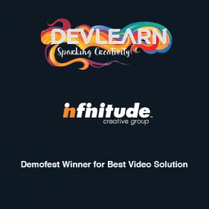 Infinitude Wins Best Video Solution At DevLearn DemoFest 2016
