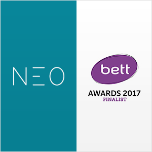 NEO LMS Was Selected As A Finalist For The Bett Awards