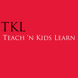 Teach n' Kids Learn (TKL) logo