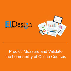 EI Design Holds Learnability Webinar: Offers Free Course Evaluation