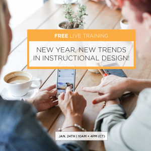 New Year, New Trends In Instructional Design
