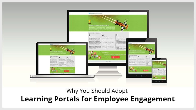 Why You Should Adopt Learning Portals For Employee Engagement