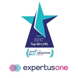 ExpertusONE Ranked A Best LMS For Distributed Multi-Audience Learning