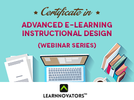 Learnnovators Offers Advanced eLearning Instructional Design Course