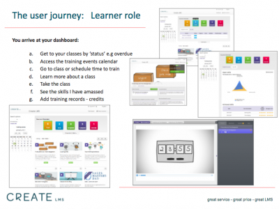 Screenshot of Create LMS