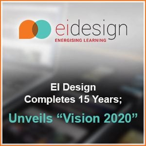 EI Design Completes 15 Years And Unveils Vision 2020