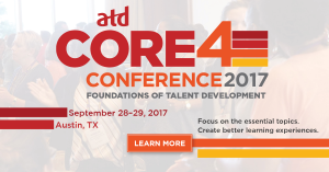 ATD Core 4 Conference 2017