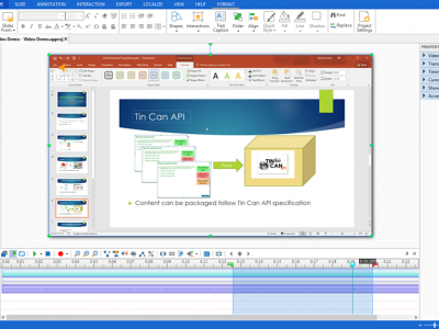 Screenshot of ActivePresenter