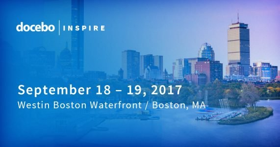 DoceboInspire: Docebo's User Conference To Be Held In Boston Sept 2017