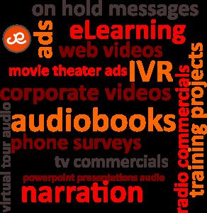 Julie Eickhoff Audio Productions logo