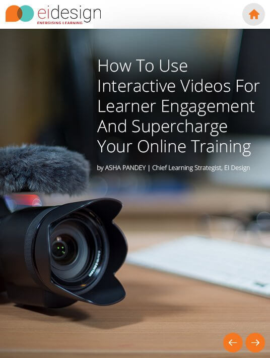 Free Ebook: Free eBook on how to Use Interactive Videos For Learner Engagement