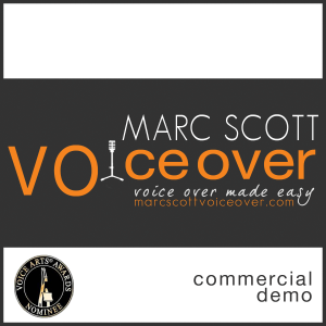 Marc Scott Voice Over logo