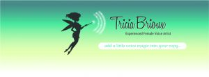 Tricia Brioux Voice Overs logo
