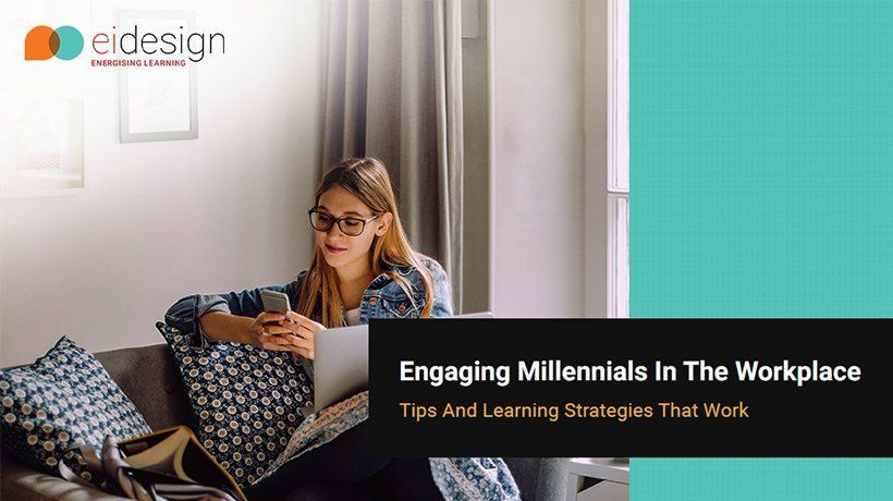 Free eBook: Engaging Millennials In The Workplace - Tips And Learning Strategies That Work