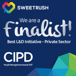SweetRush Named Finalist In The 2017 CIPD People Management Awards