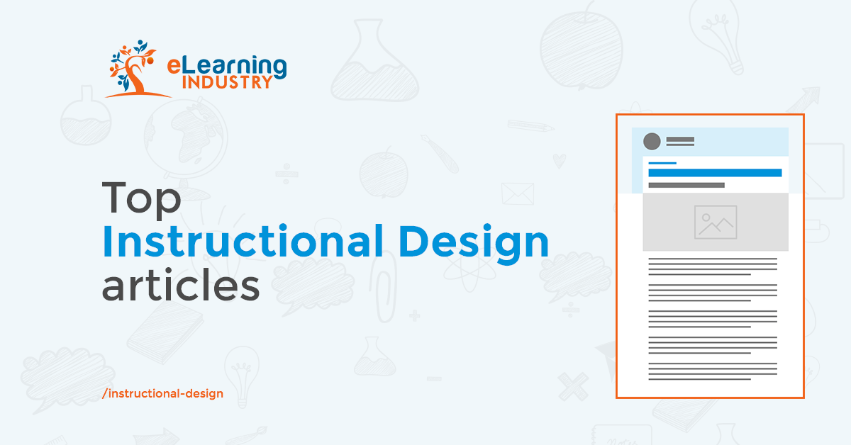 Instructional Design Articles Elearning Industry