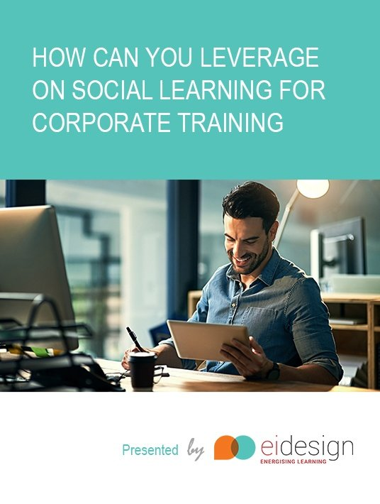 Free Ebook: Get the eBook How Can You Leverage On Social Learning For Corporate Training