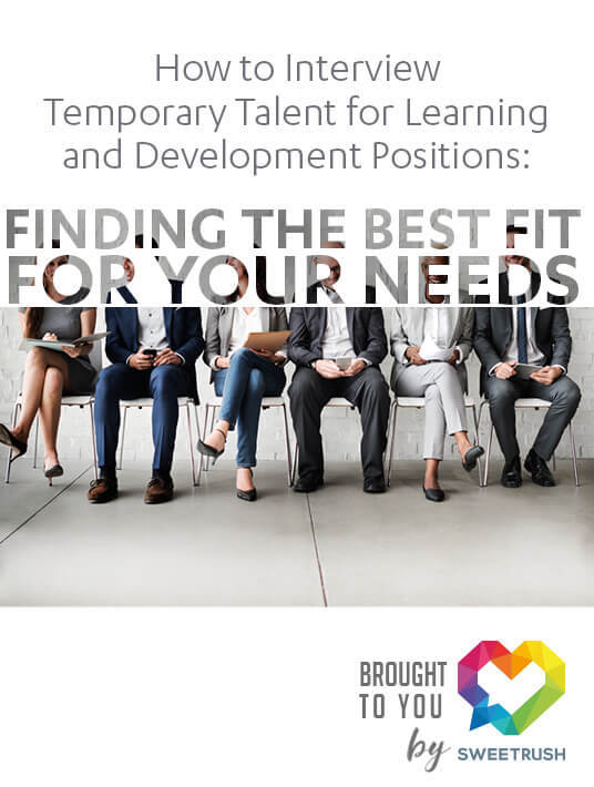 Free Ebook: How To Interview Temporary Talent For Learning And Development Positions