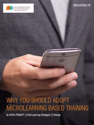 Why You Should Adopt Microlearning Based Training