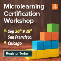 Microlearning Certification Workshop In The US By CommLab India