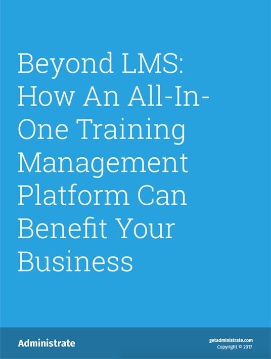 Free Ebook: How An All-In-One Training Management Platform Can Benefit Your Business
