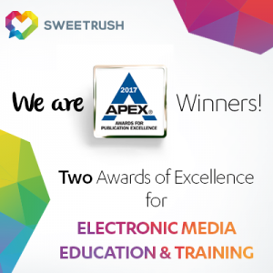 SweetRush Recognized For Excellence At The APEX Awards