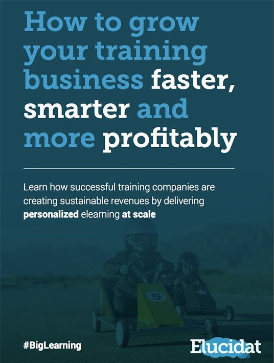 eBook Release: Get a free eBook on How To Grow Your Training Business, by Elucidat
