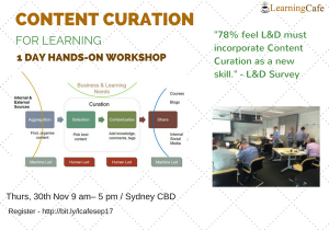 Content Curation For Learning - Sydney, Australia